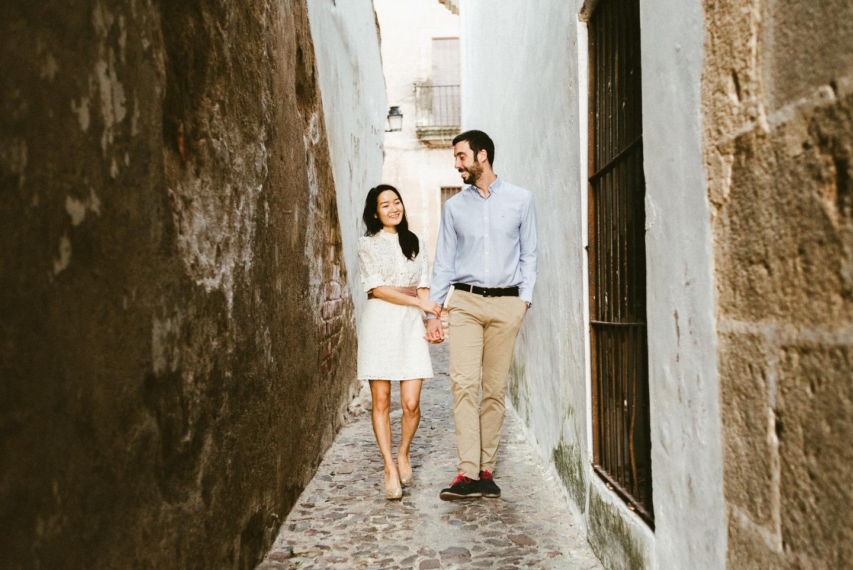 preboda en Cáceres parte antigua